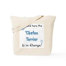 Tibetan Terrier Charge Tote Bag