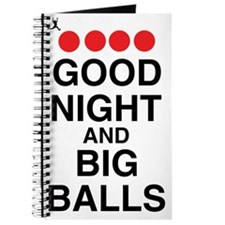 good-night-big-balls-black Journal