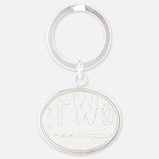 rWo Oval Keychain