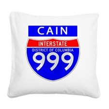 interstate cain Square Canvas Pillow