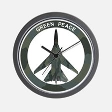 FB-111 Green Peace Wall Clock