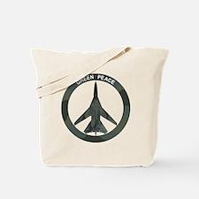 FB-111 Green Peace Tote Bag