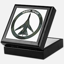 FB-111 Green Peace Keepsake Box