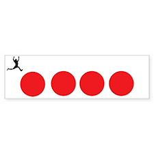 fourballs-black Sticker (Bumper)