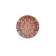 Handmade carpet Mini Button
