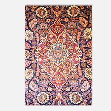 Handmade carpet Postcards (Package of 8)