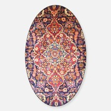 Handmade carpet Sticker (Oval)