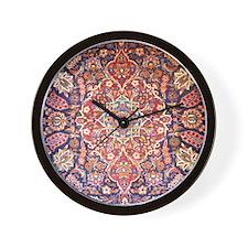Handmade carpet Wall Clock