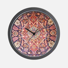 Handmade carpet Wall Clock