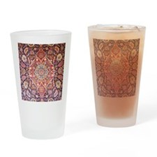Handmade carpet Drinking Glass