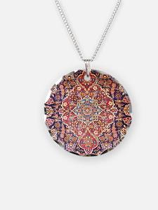 Handmade carpet Necklace
