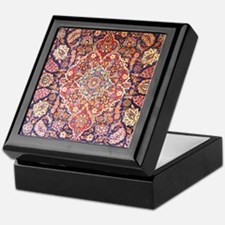 Handmade carpet Keepsake Box