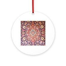 Handmade carpet Round Ornament