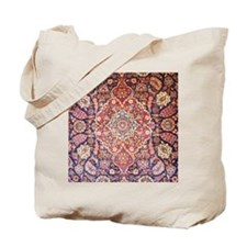 Handmade carpet Tote Bag
