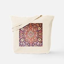 Handmade carpet Tote Bag