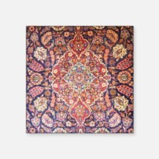 """Handmade carpet Square Sticker 3"""" x 3"""""""