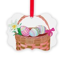 easter basket Ornament