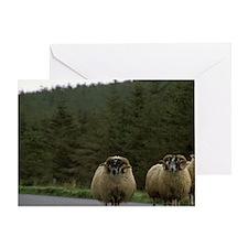 United Kingdom, Scotland, Isle of Sk Greeting Card