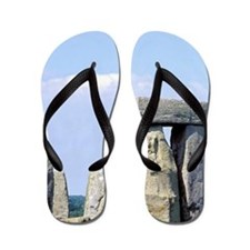 Europe, England. Stonehenge Flip Flops