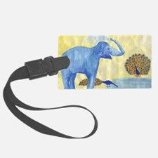 elephant squirting water in prog Luggage Tag