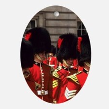 London. Famous Tradition Changing of Oval Ornament