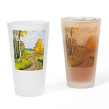 fall Drinking Glass