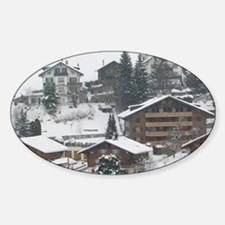 SWITZERLAND, Vaud, CHATEAUX, D'OEX: Decal