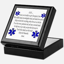 Paramedic's Prayer Keepsake Box