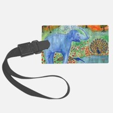 elephant squirting water Luggage Tag