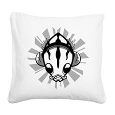 deep-one-side1 Square Canvas Pillow