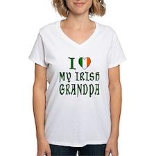I Love My Irish Grandpa Shirt