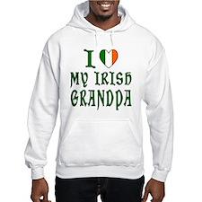 I Love My Irish Grandpa Hoodie