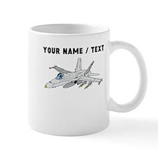 Custom Fighter Jet Mugs