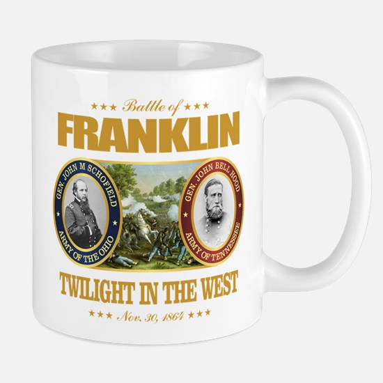 Battle of Franklin (FH2) Large Mugs