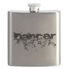Abstract Dancer by DanceShirts.com Flask