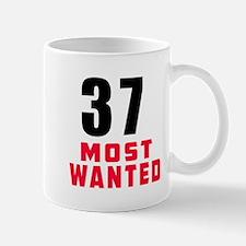 37 most wanted Mug