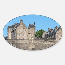 Scotland, Edinburgh. Historic hillt Decal