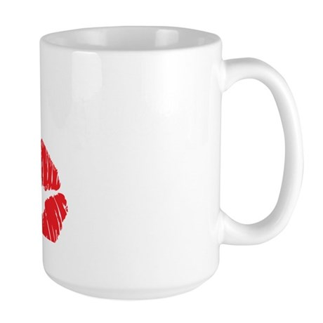 blowjob queen3 Large Mug