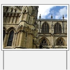 Largest Gothic cathedral north of Alps. Yard Sign