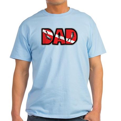 SCUBA Dad Light T-Shirt