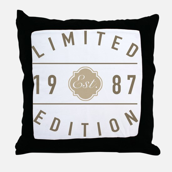 Cool Limited edition Throw Pillow