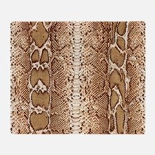 pillow-snake-skin-3 Throw Blanket