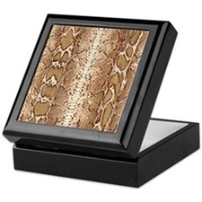 pillow-snake-skin-3 Keepsake Box