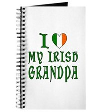 I Love My Irish Grandpa Journal