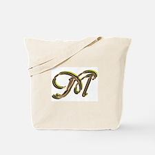 Phyllis Initial M Tote Bag