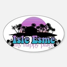 isle esme happy place for light Decal