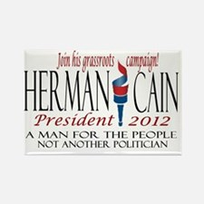 Cain yard sign Rectangle Magnet