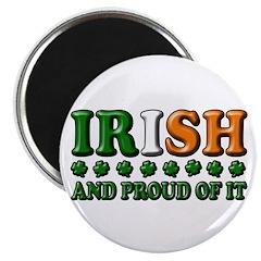 Irish and Proud of It 3D Magnet
