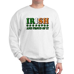Irish and Proud of It 3D Sweatshirt