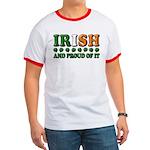 Irish and Proud of It 3D Ringer T